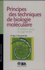 Principes des techniques de biologie mol  culaire PDF