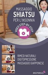 Massaggio Shiatsu per l'insonnia