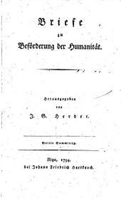 Briefe zu Beförderung der Humanität: Bände 3-4