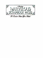 Making Marvelous Scrapbook Pages