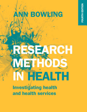 EBOOK  Research Methods in Health  Investigating Health and Health Services