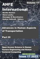 Advances in Human Aspects of Transportation  Part III PDF