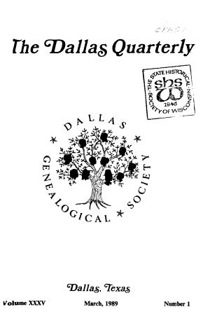 The Dallas Quarterly