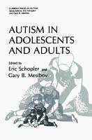 Autism in Adolescents and Adults PDF