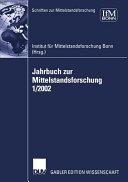 Jahrbuch zur Mittelstandsforschung 1 2002 PDF