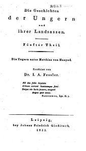 Die geschichten der Ungern und ihrer landsassen: Band 5