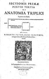 Sectionis primae portio tertia de anatomia triplici: in partes tres divisa