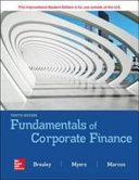 Fundamental of Corporate Finance 10e
