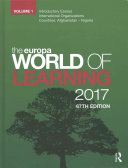 The Europa World of Learning 2017