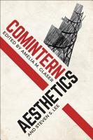 Comintern Aesthetics PDF