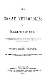 The Great Metropolis, a Mirror of New York: A Complete History of Metropolitan Life and Society, with Sketches of Prominent Places, Persons, and Things in the City, as They Actually Exist