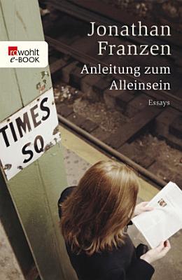 Anleitung zum Alleinsein PDF