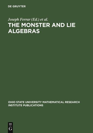 The Monster and Lie Algebras PDF