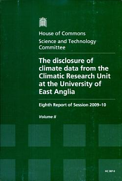 The Disclosure of Climate Data from the Climatic Research Unit at the University of East Anglia PDF