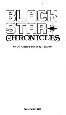 Black Star Chronicles PDF