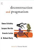 Deconstruction and Pragmatism PDF