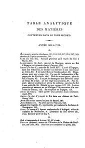 Mémoires: Écrits par lui-même, extrait du manuscrit original, ... avec dec notes historiques et critiques et un abrége ́de l'histoire de la Régence, Volume3