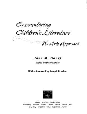 Encountering Children s Literature