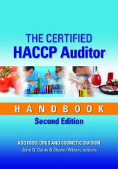The Certified HACCP Auditor Handbook, Third Edition