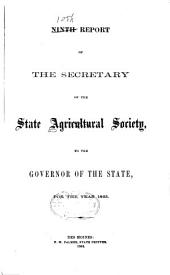 Annual Report of the Iowa State Agricultural Society