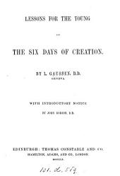 Lessons for the young on the six days of Creation