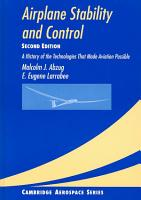 Airplane Stability and Control PDF