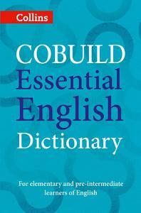 COBUILD Essential English Dictionary PDF