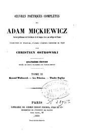 Oeuvres poétiques complètes: Volume2