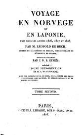 Voyage en Norvège et en Laponie: fait dans les années 1806, 1807 et 1808, Volume2