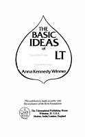 The Basic Ideas of Occult Wisdom PDF