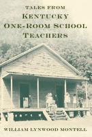 Tales from Kentucky One Room School Teachers PDF