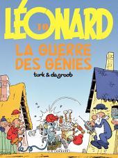 Léonard - tome 10 - La guerre des génies