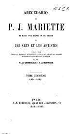 Archives de l'art français: recueil de documents inédits relatifs à l'histoire des arts en France, Volume2;Volume4