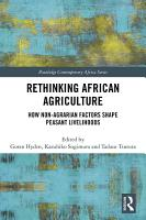 Rethinking African Agriculture PDF