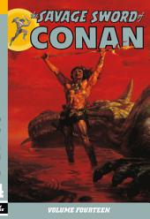 The Savage Sword of Conan: Volume 14