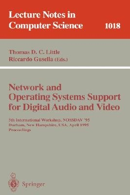 Network and Operating Systems Support for Digital Audio and Video PDF