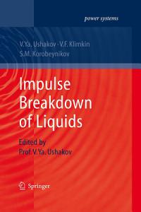 Impulse Breakdown of Liquids Book