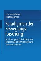Paradigmen der Bewegungsforschung PDF