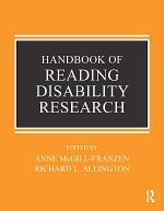 Handbook of Research on Reading Disabilities