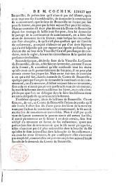 Pour M. le Duc de Valentinois, en qualité de tuteur des princes et princesses, ses enfants mineurs, contre le prince et la princesse d'Ysenghien