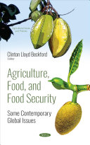 AGRICULTURE, FOOD, AND FOOD SECURITY