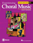 Experiencing Choral Music Beg Book PDF