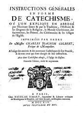 Instructions générales en forme de catéchisme... par ordre de Mgr C.- J. Colbert, Ev. de Montpellier