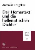 Der Homertext und die hellenistischen Dichter PDF