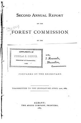 Annual Report of the Forest Commission of the State of New York PDF