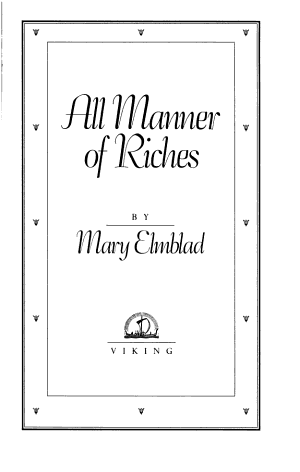 All Manner of Riches