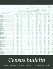 Census Bulletin: Issue 90