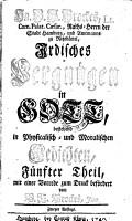 Irdisches Vergn  gen in Gott     Gedichten PDF