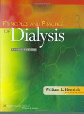 Principles and Practice of Dialysis: Edition 4