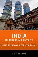 India in the 21st Century PDF
